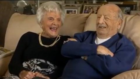 Nach 80 gemeinsamen Ehejahren verrät uns dieses glückliche Paar sein Erfolgsrezept.