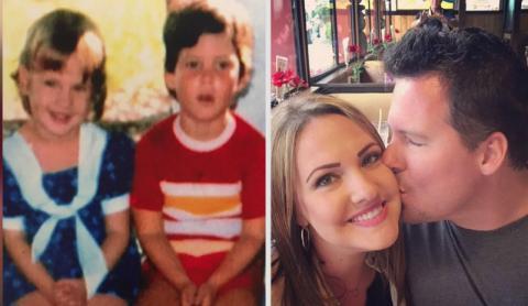 Sie sind seit einem Jahr ein Paar und entdecken dann etwas Unglaubliches über ihre Kindheit!
