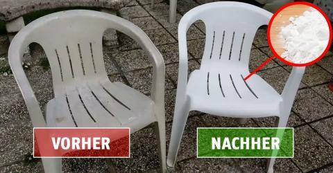 Mit diesem genialen Tipp bekommst Du Deine Gartenmöbel wieder auf Hochglanz