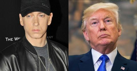 Eminem disst Donald Trump. Sein Freestyle-Rap hat es in sich!