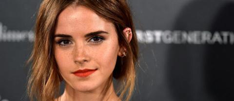 Emma Watson zeigt ihren neuen Haarschnitt auf dem roten Teppich