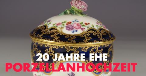 20. Hochzeitstag / Porzellanhochzeit: Geschenkidee, Feier, Bedeutung