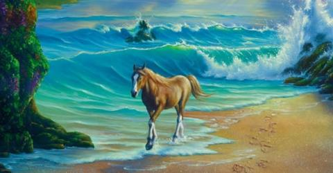 Das Internet dreht durch: Keiner findet alle Pferde im Bild