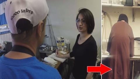 Ein Obdachloser bettelt sie um Geld an... Du wirst nicht glauben, was sie ihm darauf antwortet! Einfach unglaublich!