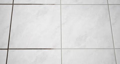 mit nur wenigen zutaten bekommst du schwarz gewordene fliesenfugen ruckzuck wieder sauber. Black Bedroom Furniture Sets. Home Design Ideas