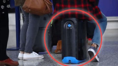 Der Reise-Koffer Jurni: klein, aber fein! Genau das Richtige für Ordnungs-Freaks!