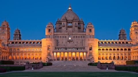Das Umaid Bhawan Palace in Indien wurde zum schönsten Hotel der Welt gewählt
