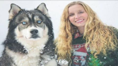 Sie adoptiert einen Husky... und er rettet ihr das Leben