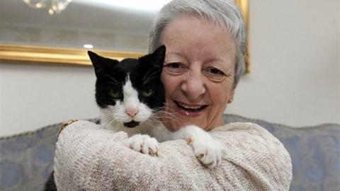 Das seltsame Verhalten ihrer Katze rettet dieser Frau das Leben