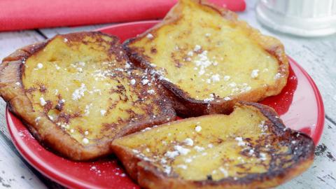 French Toast: einfaches Rezept für Arme Ritter in der Pfanne