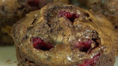 Maltesers-Brownies mit Himbeeren, ein süßer Genuss!