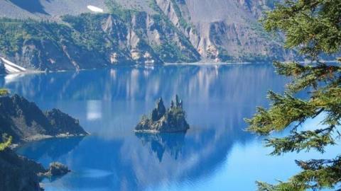 Karatschai-See im Ural in Russland von Atom-Müll verseucht