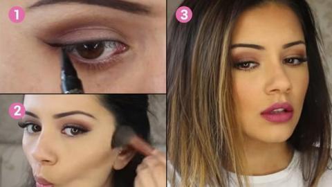 Lernen Sie, sich wie Kylie Jenner zu schminken. Das Ergebnis ist verblüffend.