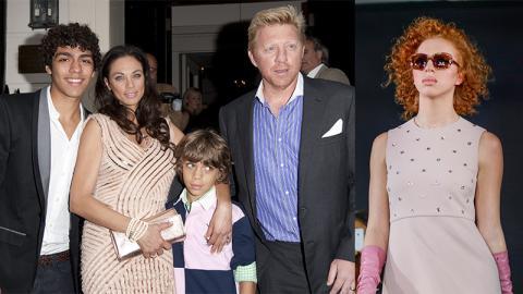 Stolzer Papa: Nächstes Becker-Kind auf dem Weg zum internationalen Supermodel
