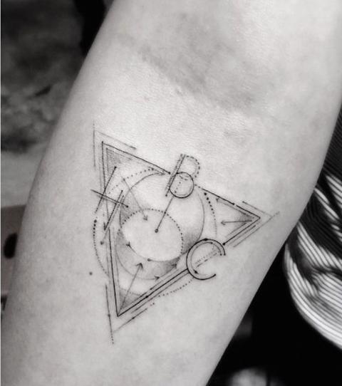 Bedeutung geometrische dreiecke tattoo Wikinger Tattoos