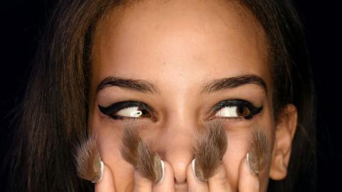Furry Nails: Der pelzige Nail-Art-Trend