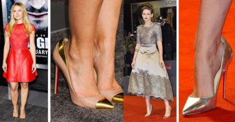Aus diesem genialen Grund tragen Stars immer zu große Schuhe