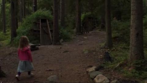 Ein kleines Mädchen geht im Wald spazieren, als es plötzlich... Doch seht selbst!