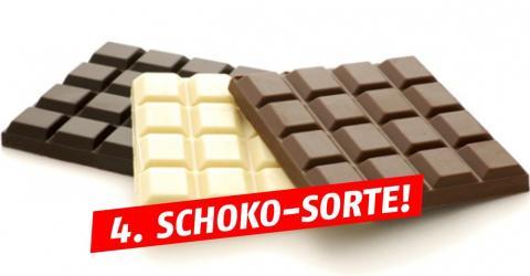 Schweizer erfinden neue Schokoladen-Sorte! Die Farbe musst du gesehen haben!