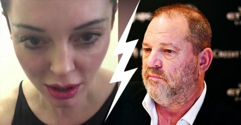 Schauspielerin Rose McGowans Geburtstagswünsche an Harvey Weinstein