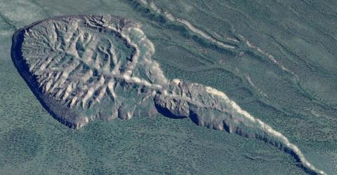 """Das """"Tor zur Unterwelt"""" in Sibirien wird immer größer und legt etwas Unglaubliches frei"""