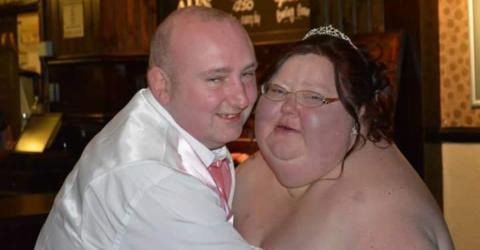 Nachdem sie ihre Hochzeitsfotos sieht, halbiert sie ihr Gewicht in nur 9 Monaten