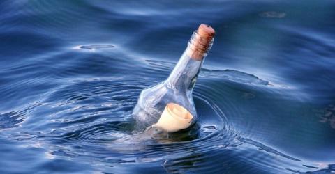 Nach 132 Jahren: Flaschenpost angespült und endlich geöffnet