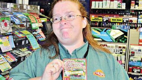 Diese Frau hat schon vier Mal im Lotto gewonnen - jetzt verrät sie ihren Trick!