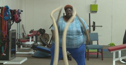 270 Kilo schwere Frau will aus einem ganz bestimmten Grund abnehmen