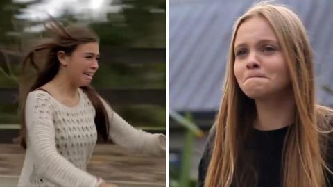 Trotz räumlicher Distanz: Mädchen teilen das gleiche Schicksal
