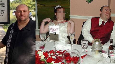 Die unglaubliche Verwandlung eines Mannes, der von seiner Frau wegen seines Gewichts verlassen wird