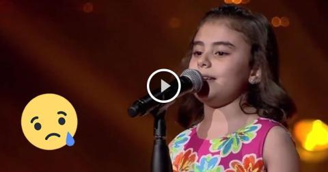 The Voice Kids: Ein kleines syrisches Mädchen singt vom Frieden und bewegt alle