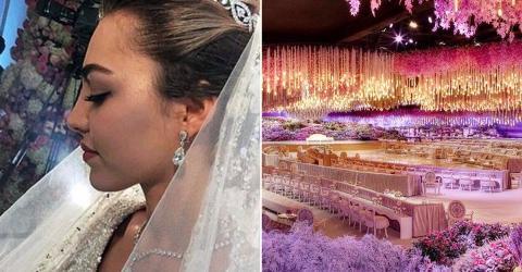 Ihr Hochzeit kostet eine Milliarde Euro - die Bilder sind atemberaubend