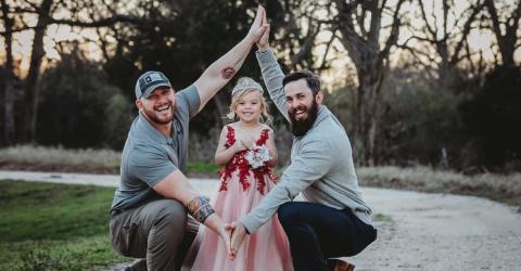Eine Tochter, zwei Väter - wie geht das?