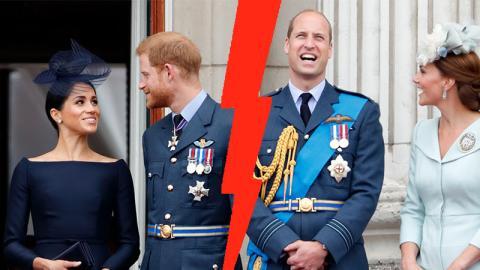Kate und William: Das ist der Grund für ihren Streit mit Harry und Meghan