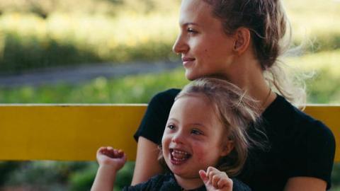 """Offensive: """"Mein Sohn hat Down Syndrom und ich bin stolz auf ihn"""""""