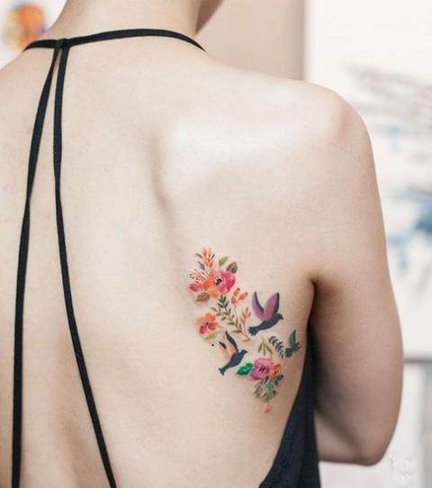 Farb Tattoo 15 Motive Zur Inspiration