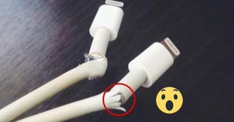 Ein perfekter Trick um ein ausgefranztes Ladekabel zu reparieren!