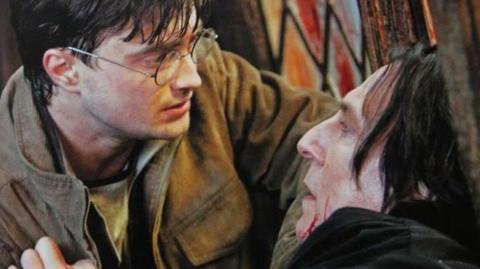 Die enorme Doppeldeutigkeit von Severus Snapes ersten Worten an Harry Potter