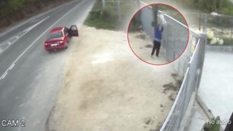 Video eines ausgesetzten Hundes empört User!
