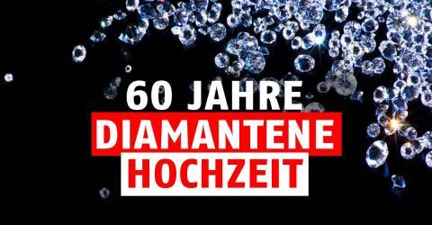 Diamantene Hochzeit / 60. Hochzeitstag: Geschenkidee, Feier, Bedeutung