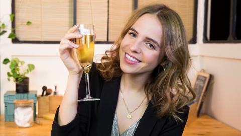 Nach Silvester: Was  tun mit übrig gebliebenen Champagner?