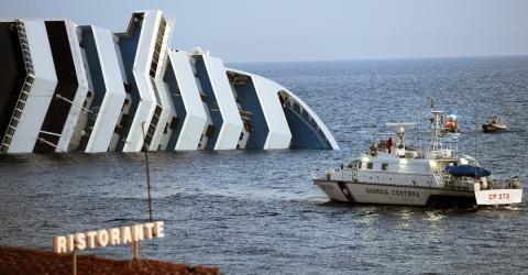 Das geschieht mit der Costa Concordia nach ihrem Untergang vor sieben Jahren