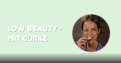 Low Beauty: Das lässt sich alles mit einer Gurke anstellen