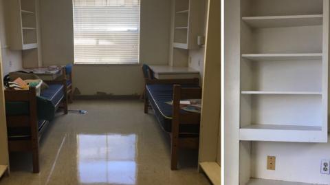 Mit nur 400 Euro gelingt ihnen die geniale Verwandlung ihres Studentenzimmers!