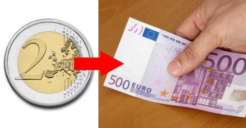 Als sie diese Münze sieht, weiß sie, dass sie um 1000 Euro reicher ist!