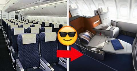 Mit diesen einfachen Tricks, könnt ihr ein kostenloses Upgrade im Flieger bekommen!