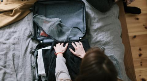 Die KonMari-Methode: Koffer packen mit einer Expertin