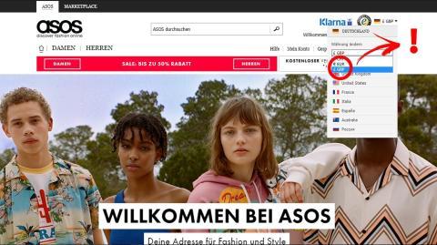 ASOS: So kannst Du beim Onlineshoppen bei Asos Geld sparen