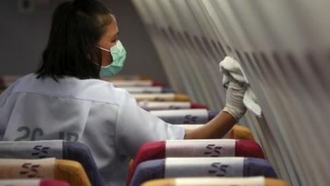Das ist die unhygienischste Stelle in einem Flugzeug